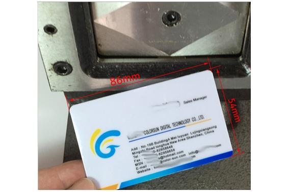 Machine Decoupe De Cartes Visite Bout Arrondi Desktop CARD